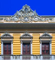 spain, canary islands, tenerife : la orotava, old city, balcony