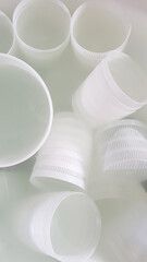 Plastic forms for ricotta cheese making