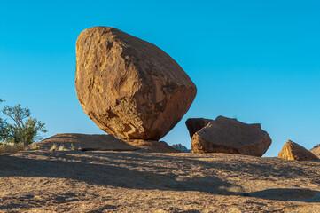 Solid granite boulders at Bulls Party at Ameib