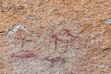 San paintings at Bushmans Paradise
