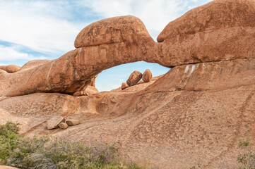 One of several natural rock arches at the greater Spitzkoppe