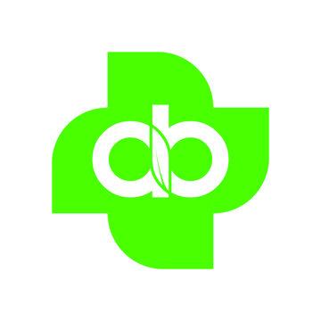 AB Letter Logo Beautiful Minimalist Logotype design for branding