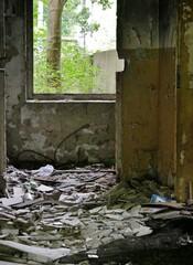 Verlassene Ruine Dwasieden