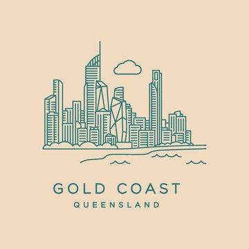 Gold Coast line icon
