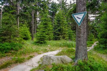 Naturschutzgebiet im Fichtelgebirge am Schneeberg