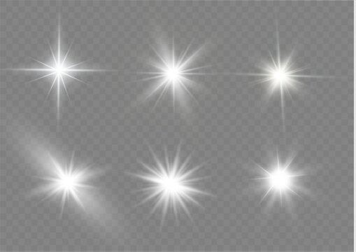 White light stars.