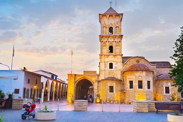 The old St Lazarus church, Larnaka, Cyprus Fototapete
