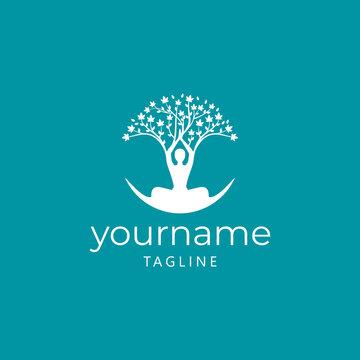 Tree of Life Yoga Logo Design