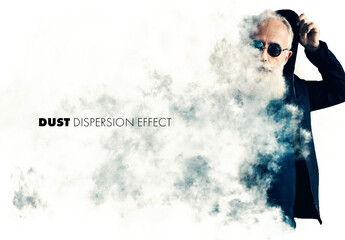Dust or Smoke Dispersion Effect Mockup