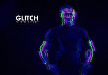 Glitch Photographic Effect