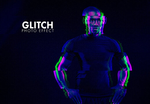 Glitch Photographic Effect