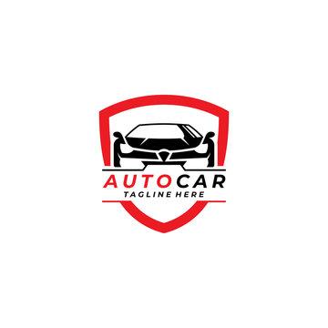 auto car logo icon vector isolated