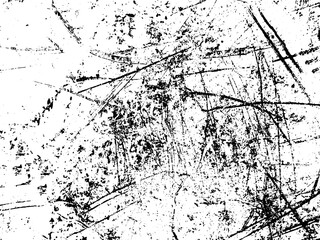 Wall Mural - Black and white grunge. Distress overlay texture. Abstract surface dust and rough dirty wall background concept. Distress illustration simply place over object to create grunge effect . Vector EPS10.