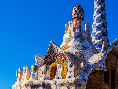 Le parc Guell (Barcelone)