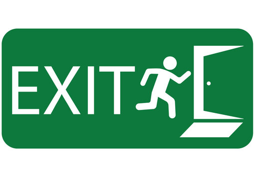 emergency exit sign