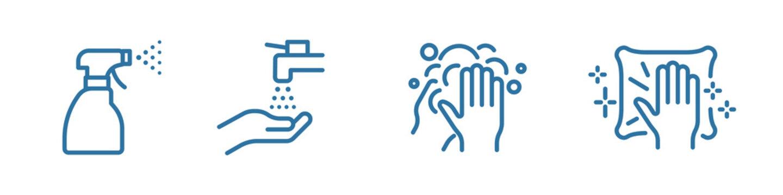 Coronavirus vector icon