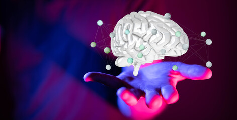 human brain innovation concept inspiration mind