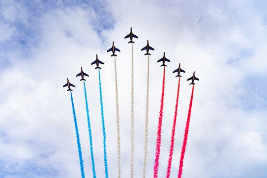 Patrouille de France 14 juillet