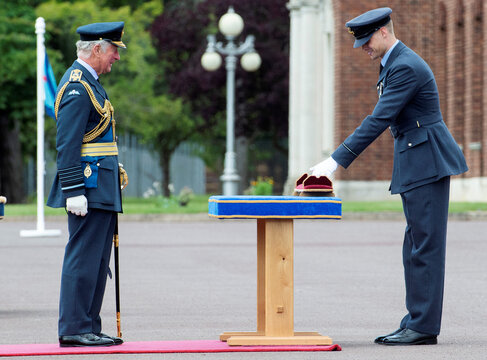 Britain's Prince Charles attends Graduation Ceremony at RAF College Cranwell