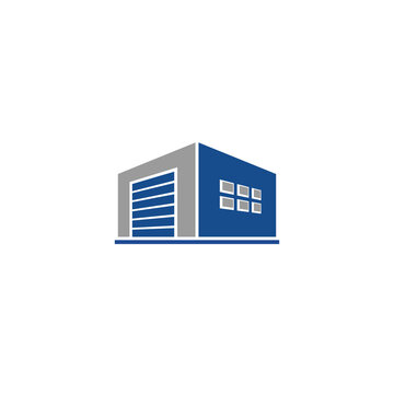 Self Storage and Safe Deposit Box logo / icon design
