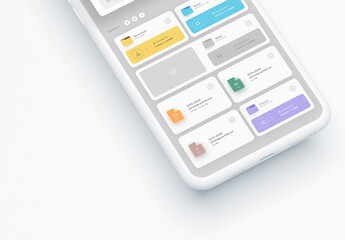 Mobile Device Ui Layout
