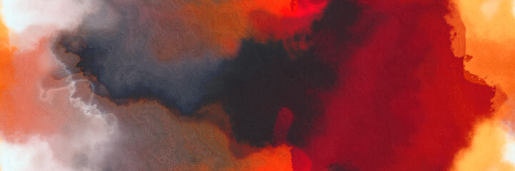 Photo sur Aluminium Bordeaux abstract watercolor background with watercolor paint style with dark moderate pink, wheat and tomato colors. can be used as web banner or background