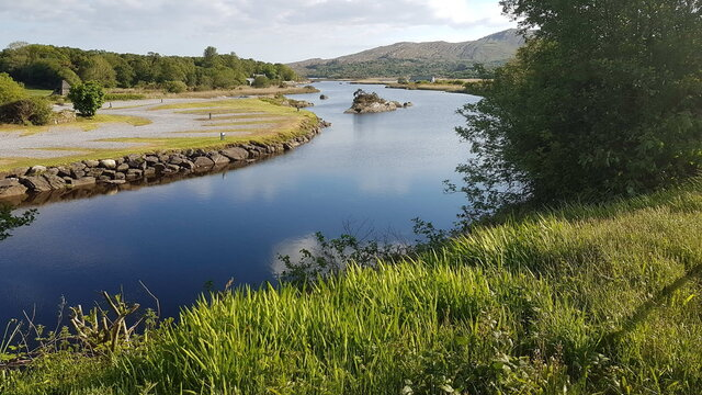 A view of Sneem river, Ireland