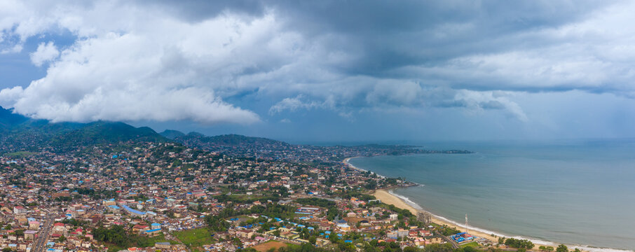 Freetown, Sierra Leone - drone landscape photo