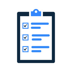 Checklist, complete task icon design