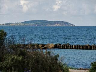 Blick von Rogen nach Hiddensee
