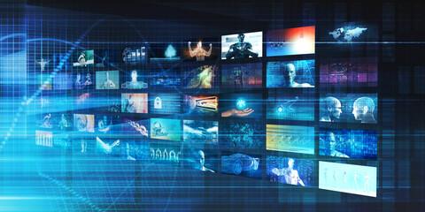 Fotorolgordijn Londen Interactive Media