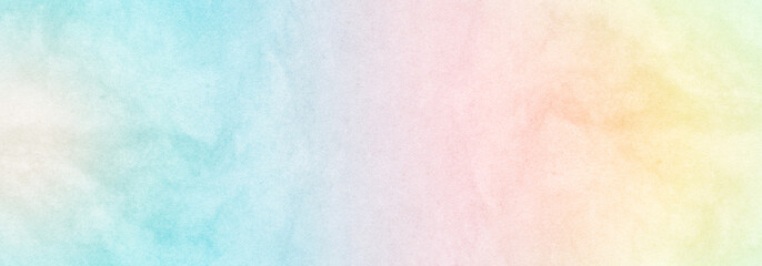 Multicolored pastel abstract background.Gentle tones paper texture. Light gradient. The colour is soft and romantic.