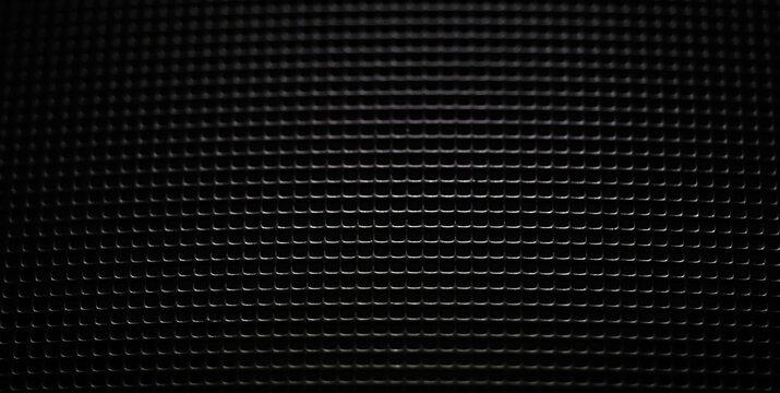 Black metal texture steel background.
