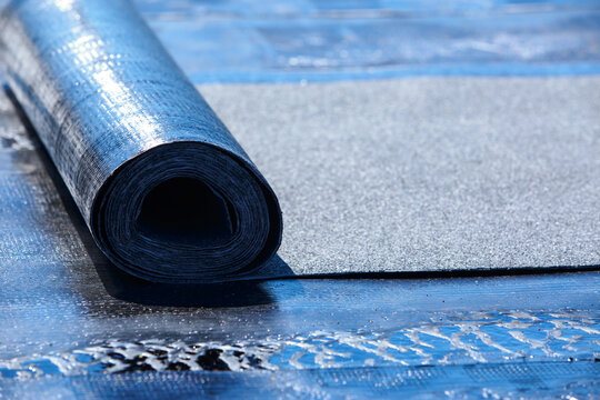 One roll of roofing material