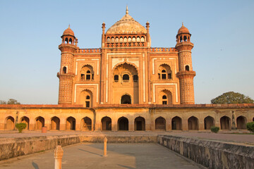 Autocollant pour porte Delhi Safdarjung's Tomb a sandstone and marble mausoleum in Delhi