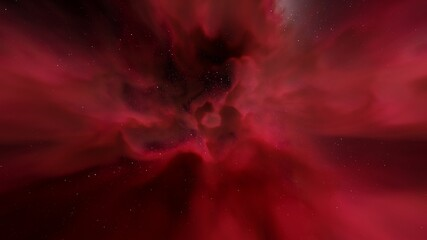 Photo sur Aluminium Rouge mauve beautiful starry sky, nebula in space, beautiful galactic background, galaxy of different colors 3d render