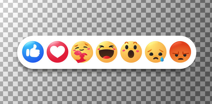 New emoticon. The thumb and face that show emotions while hugging with care.