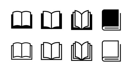 set of Book icons. Book vector icon