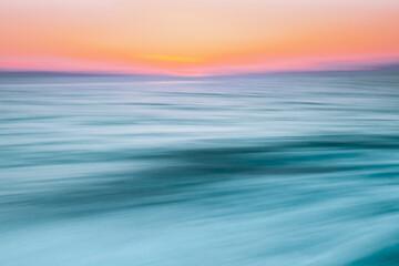 Abstract image of Lake at sunset