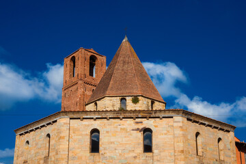 Church of the Holy Sepulchre in Pisa, erected in the early 12th century after the First Crusade for the Knights Hospitaller Order