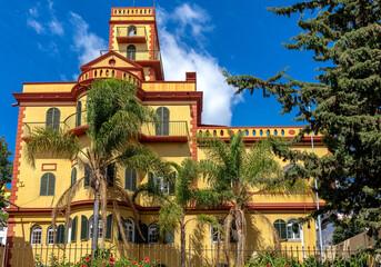 Villa im Kolonialstil in Funchal auf der Insel Madeira, Portugal