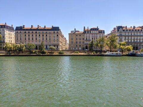 La cité de Lyon, cathédrale et vieux bouchon, parc et ville moderne, Rhône et Saône ,agréable touriste et été 2021 gastronomie française