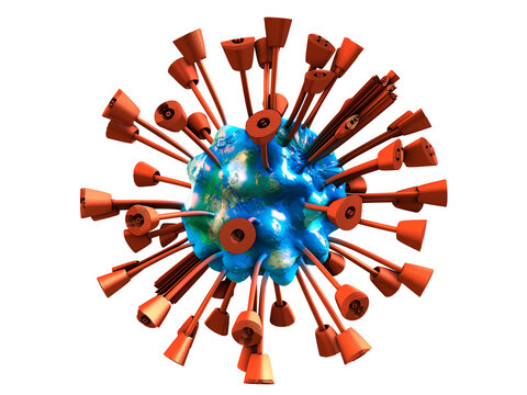 Dangerous viral disease COVID-19 swept the entire globe
