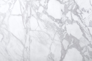 Foto auf Acrylglas Marmor Classic white marble background for your adorable home design. High quality texture.