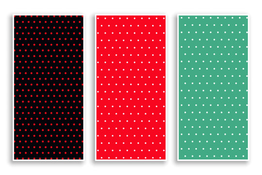 small polka dots patterns banner