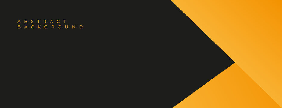 yellow and black background design . abstract yellow background design for business . yellow background vector illustration