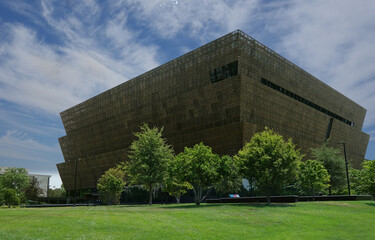 WASHINGTON DC/USA - 7-6-2020: The National Museum of African American History in Washington DC
