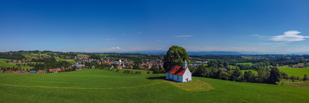 Heilig Kreuzkapelle in Amtzell, Oberschwaben   Deutschland