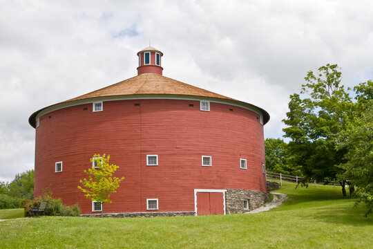 1901 Round Barn, Shelburne Museum, Shelburne, Vermont, New England
