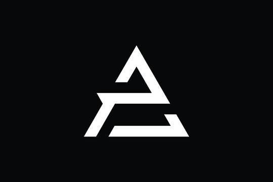 Minimal Innovative Initial AP logo and PA logo. Letter AP PA creative elegant Monogram. Premium Business logo icon. White color on black background